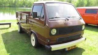 getlinkyoutube.com-vw t3 pickup brown @ nuenen 2013