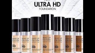 getlinkyoutube.com-Makeup Forever  Ultra HD  Foundation Review + DEMO!!!