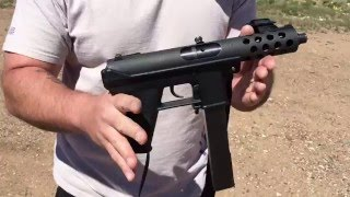 Interdynamic KG-99 9mm pre ban, shooting demo
