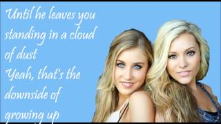 getlinkyoutube.com-Downside of Growing Up Lyrics - Maddie & Tae