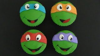 getlinkyoutube.com-ninja turtles cupcakes