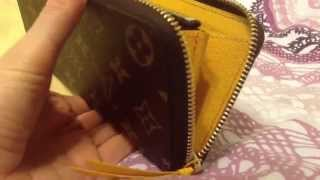 getlinkyoutube.com-Louis Vuitton Clemence Wallet Unboxing