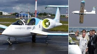 getlinkyoutube.com-Forget Electric Cars - Airbus Unveils Plans To Fly Battery Powered PLANES Within The Next 20 Years