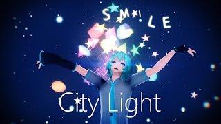 getlinkyoutube.com-【MMD PV】City Light ft. Hatsune Mikuo - 初音ミクオ (Motion DL)
