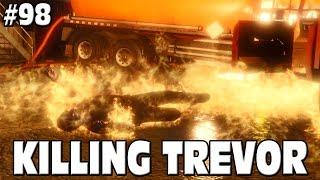 GTA 5 - KILLING TREVOR - ALTERNATE ENDING OF STORY MODE #98 Grand Theft Auto 5 Funny Moments