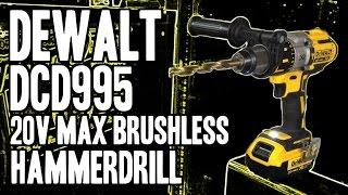 getlinkyoutube.com-DEWALT DCD995M2 20-Volt Max XR Lithium Ion Brushless Premium 3-Speed Hammerdrill DCD995 / DCD995B