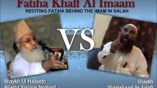 getlinkyoutube.com-Manazrah; Fatiha Khalfalimam: Moulana Yunus Nomani Vs Shaykh Samshad Salafi (Part 2/3)