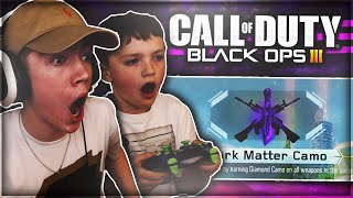 "getlinkyoutube.com-LITTLE BROTHER UNLOCKS ""DARK MATTER"" CAMO! *LIVE* ""DARK MATTER CAMO"" REACTION! (BO3 Dark Matter)"