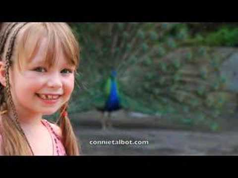 Connie Talbot 'Three Little Birds' slideshow of video shoot