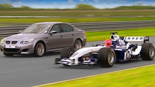 Williams F1 vs BMW M5 #TBT - Fifth Gear