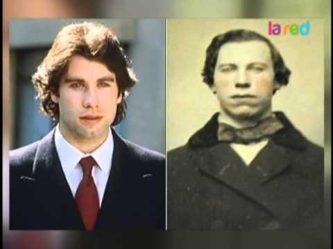 John Travolta, ¿reencarnación o viaje en el tiempo?