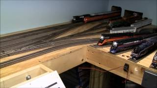 getlinkyoutube.com-How to build a train layout in a small space