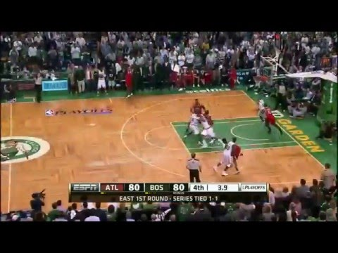 NBA Playoffs 2012: Atlanta Hawks Vs Boston Celtics Game 3 Highlights (1-2) HQ