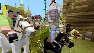 getlinkyoutube.com-Minecraft Xbox - Survival Madness Adventures - 100% Race Course [242]