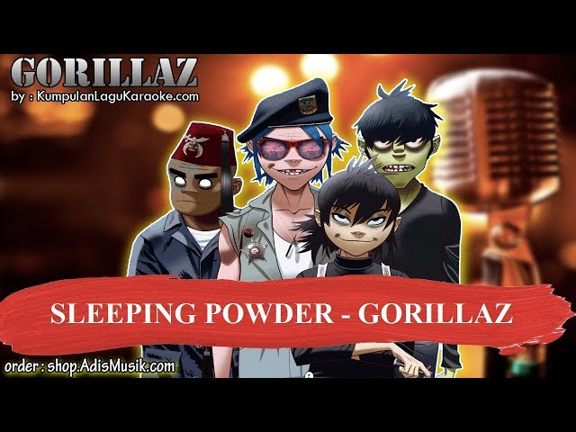 SLEEPING POWDER - GORILLAZ Karaoke