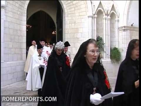 The Knights of the Holy Sepulchre support the training of new leaders in the Holy Land