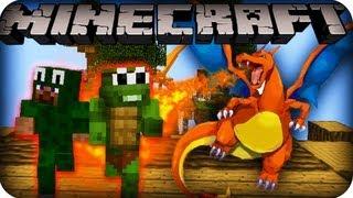 getlinkyoutube.com-Minecraft Pokemon Mini Game! ESCAPE THE CHARIZARD! (Dragon Escape)