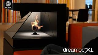 getlinkyoutube.com-DreamocXL - 3D holographic fireplace