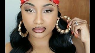 getlinkyoutube.com-Nicki Minaj Senile Music Video Makeup Tutorial   Jaz Jackson