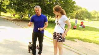 getlinkyoutube.com-Dog Whisperer Exclusive: Training a Difficult Dog - Woman's Day Magazine
