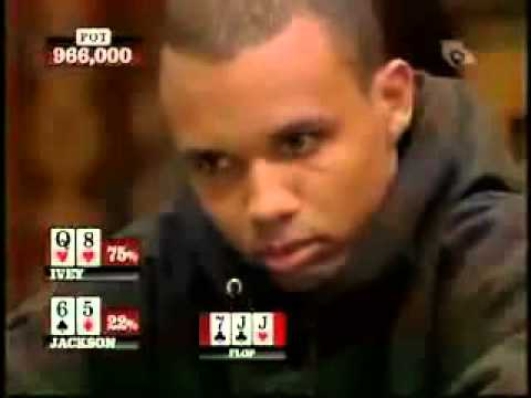 Phil Ivey v Paul Jackson - Best Bluffing action ever