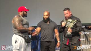 getlinkyoutube.com-Ronnie Coleman Classic | CT Fletcher received award.