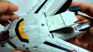 getlinkyoutube.com-Macross Review: Yamato 1/60 VF-1S pt01