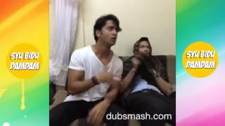 Dubsmash Lucu Shaheer Sheikh With Evan, Nabila And Ayu Ting Ting