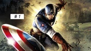 getlinkyoutube.com-Captain America: Super Soldier gameplay Full Game walkthrough part 1 XBOX 360 PS 3