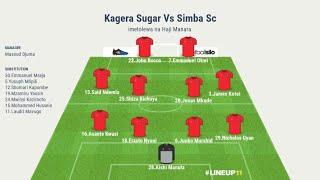 SIMBA SC VS KAGERA SUGAR, KAITABA BUKOBA