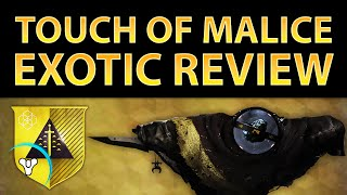 getlinkyoutube.com-Destiny Taken King: Touch of Malice Exotic Review