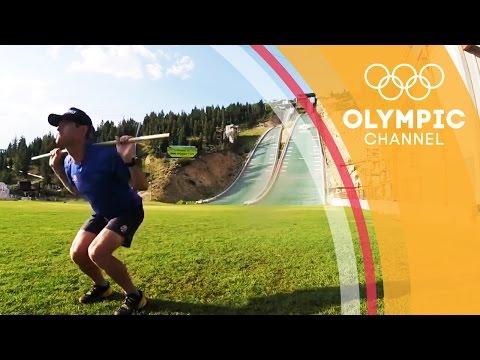 Leg Strength Workout with Bryan Fletcher   Olympians' Tips