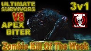 getlinkyoutube.com-Dying Light - ZOMBIE KILL OF THE WEEK - 3v1 Ultimate Survivors VS Apex Biter ( Funny Moments )