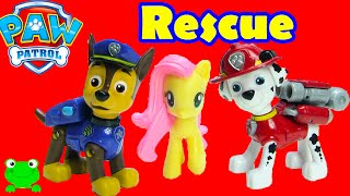 getlinkyoutube.com-Paw Patrol Rescue Training Center with Chase, Marshall, MLP, and Shopkins