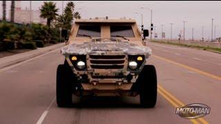 getlinkyoutube.com-US Army FED: Fuel Efficient Demonstrator Prototype Military Vehicle