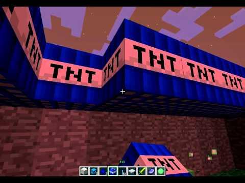 Minecraft tnt ev tuzağı