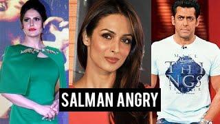 getlinkyoutube.com-Salman Khan ANGRY On Zarine Khan, Courtesy Malaika Arora