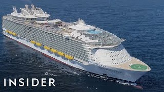 The World's Largest Cruise Ship Has Made Its Way To The United States width=