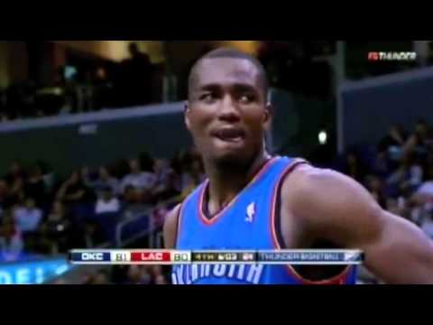 Serge Ibaka Top 10 Blocks - 2010-2011 season