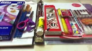 getlinkyoutube.com-مشترياتي للمدرسه + نصائح مهمه