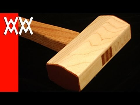 Make a wood mallet. A must-have for any woodworker.