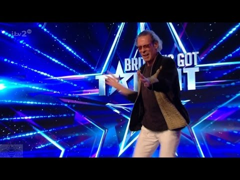Britain's Got More Talent 2017 Wacky Andre Power Dances to Airwolf Theme Full Clip S11E06
