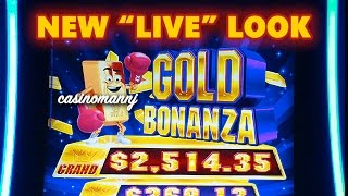 "getlinkyoutube.com-NEW ""LIVE"" Look! - GOLD BONANZA SLOT - LIVE PLAY!!! - Slot Machine Bonus"