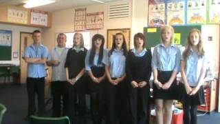 Year 10 singing - Don't Stop Believing - Glee