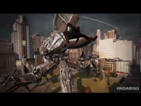 the amazing spiderman walkthrough - part 2 HD gameplay no commentary spider-man PS3 spider man game