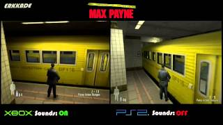 getlinkyoutube.com-Comparison - Max Payne Xbox vs PS2