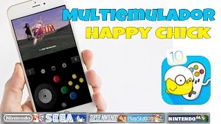 Multiemulador happy chick para iphone/ipod/ipad ios 10.juega nes,snes,n64,psp,psx