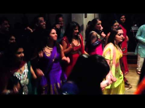 Candy dance at mehndi party
