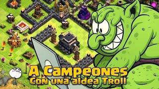 getlinkyoutube.com-¿Eres TH9 y no sabes como subir a Campeones? Mira! | Clash of Clans