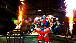 getlinkyoutube.com-Real Steel Champions | FINAL TOURNAMENT | Touchdown VS Metro (Champion) NEW ROBOTS GAME